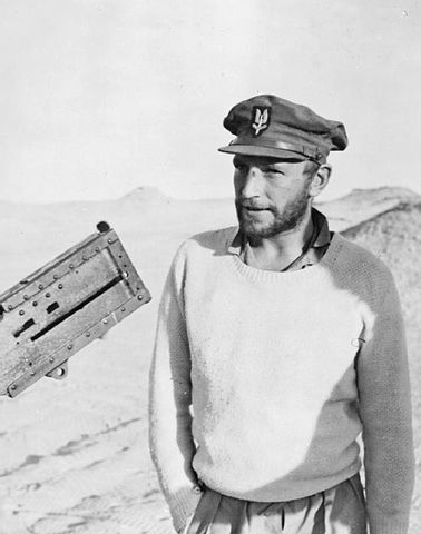 Paddy Mayne in Egypt, 1942