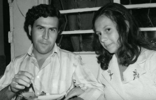 Maria Victoria Escobar and pablo escobar