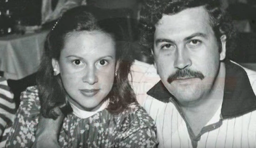 Pablo escobar and wife